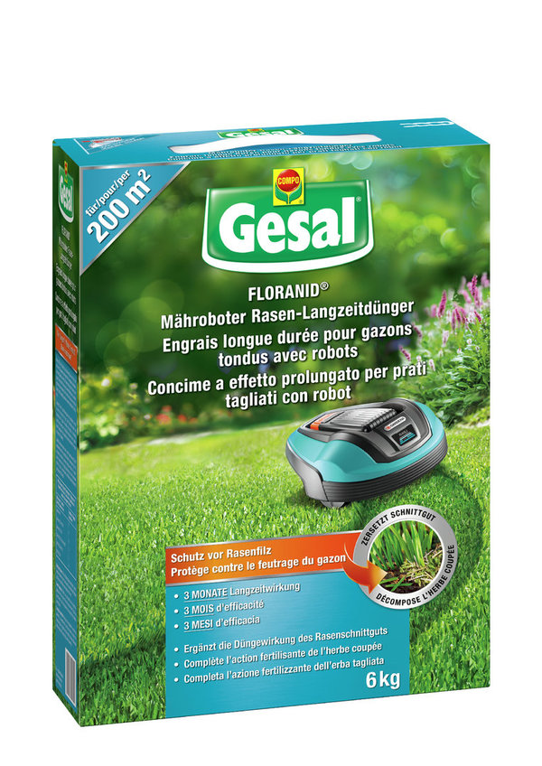 GESAL CONCIME 6KG ROBOT