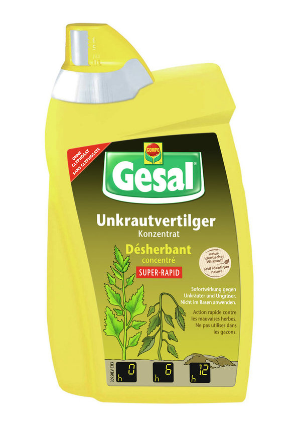 GESAL DISERBANTE 500ML-SUPER RAPID