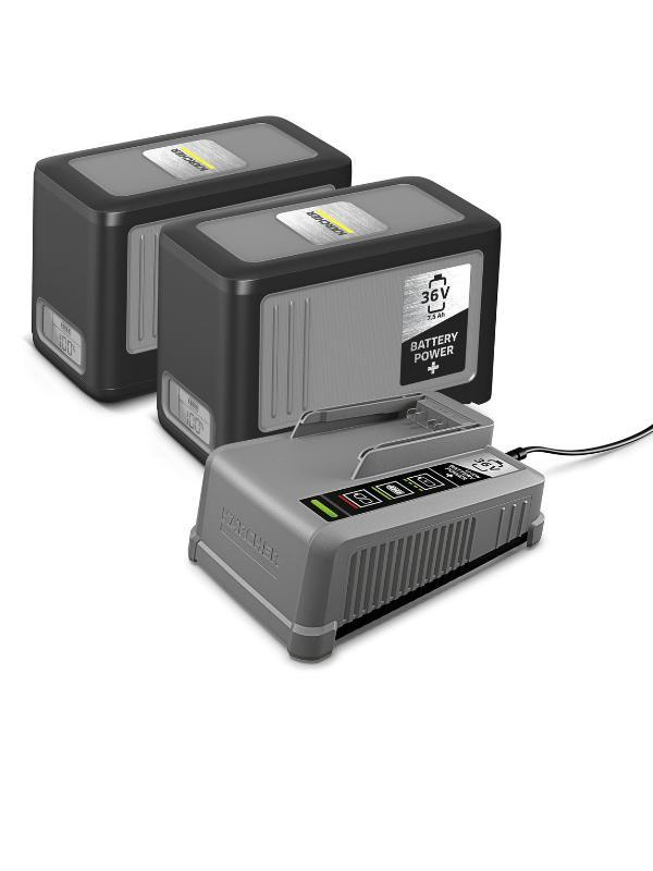 Battery Power+Starter Kits 36 V / 7,5 Ah